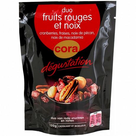 Cora dégustation mélange graines et fruits rouges 120g