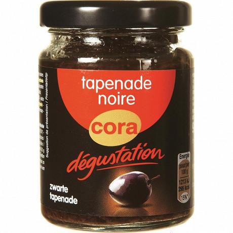Cora dégustation tapenade noire 90g