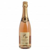 L'Ame du terroir AOC crémant de Loire rosé brut 75cl 12% Vol.
