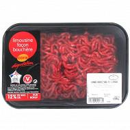 Viande hachée 12% façon bouchère Limousin, 500g