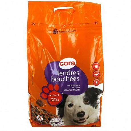 Cora tendres bouchées pour chien adulte 4kg
