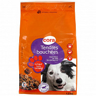 Cora tendres bouchées pour chien adulte 1.5kg