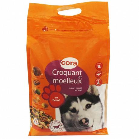 Cora croquant et moelleux pour chien adulte 4kg