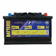 Auto 7 batterie 12V 70AH nominal 510A (en)