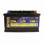Auto 7 batterie 12V 76AH 650A