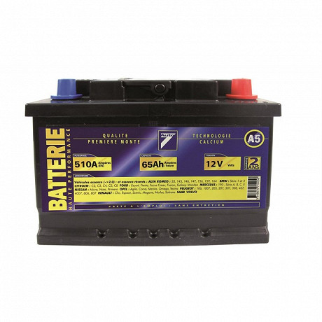 Auto 7 batterie 12V 65AH 480A