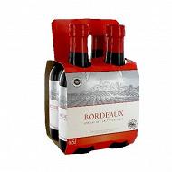 L'âme du terroir Bordeaux rouge 4 x 25 cl 13% Vol.