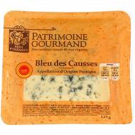 Patrimoine gourmand bleu des Causses AOP au lait pasteurisé  125g