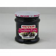 Beyer confiture de cerises noires 370g