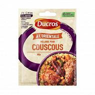 Ducros sachet mélange pour couscous oriental  20g