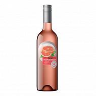 Champoreau boisson à base de vin rosé pamplemousse 75 cl 8% Vol.