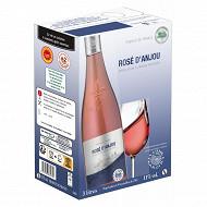 L'âme du terroir rosé d'Anjou poche 3 litres 11% Vol.
