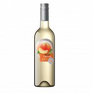 Champoreau boisson aromatisée à base de vin blanc pêche 75 cl 8% Vol.