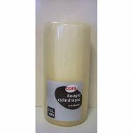 Cora bougie cylindrique blanc d60h130