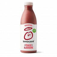Innocent smoothie fraise et banane 750ml