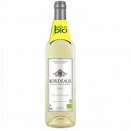 Nature Bio Bordeaux blanc 75 cl 12,5% Vol.