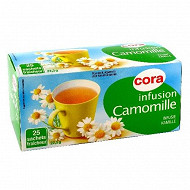 Cora infusion camomille 25 sachets 23g