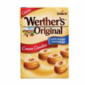 Werther's original boite de 42g sans sucres classique