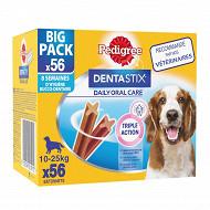 Pedigree dentastix moyens chiens 1.4kg