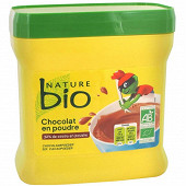 Nature bio chocolat en poudre kido 450g