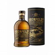 Aberfeldy whisky single malt écossais 12 ans 70cl 40%vol