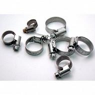 Cartec 7 colliers de serrage 8 à 27mm