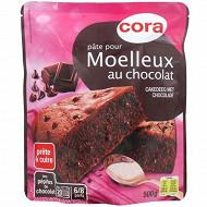Cora pâte pour moelleux chocolat pépites 500g