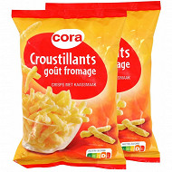 Cora croustillant fromage 2x90g