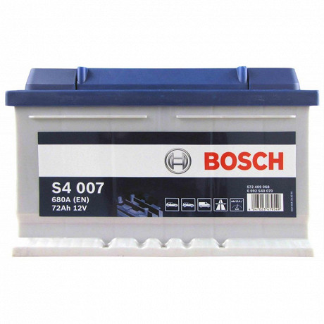 Bosch batterie s4 silver 12V 72AH 680A