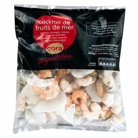 Cora dégustation cocktail de fruits de mer 400g
