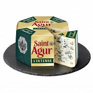 Saint Agur l'intense 33% mg/ poidstotal au lait pasteurisé