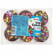Cora cupcake goût vanille glace choco lait et dragées de chocolat 240g