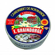 E.Graindorge camembert de Normandie au lait cru AOP 250 g