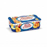 Recette Crémeuse Danone fruits jaunes 8x125g