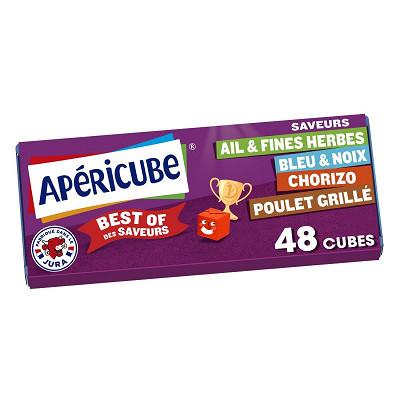 Apéricube Apéricube best of des saveurs 48 cubes 250g