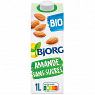 Bjorg lait d'amande sans sucres ajoutés 1l