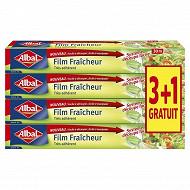 Albal film fraîcheur 30m  3+1 offert