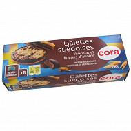 Cora galette suedoise double chocolat 150g