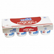 Malo fromage frais sucré 7.2% MG 8x100g
