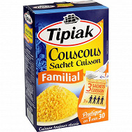 Tipiak couscous familial (3x210g) 630g