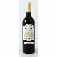 Haussmann bordeaux supérieur rouge 75cl 12,5%vol