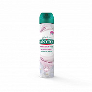 Sanytol désodorisant désinfectant 300ml fraicheur fleurs blanches