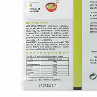 Hikari miso soupe miso tofu petits oignons/naganegi 3 portions 58g