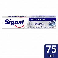 Signal dentifrice tube anti-tartre 75ml