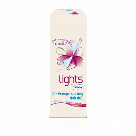 Tena protège-slip incontinence long lights x20