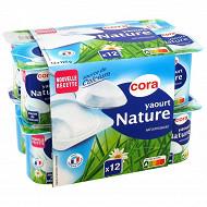 Cora yaourt nature 12x125g
