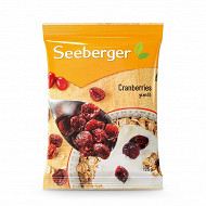 Seeberger Cranberries 125g
