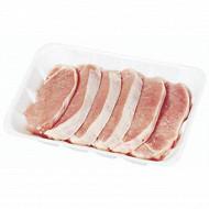 Filet de porc sans os en tranche format caissette