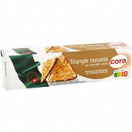 Cora triangles noisettes au chocolat suisse 100g