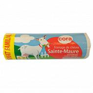 Cora fromage de chèvre sainte maure au lait pasteurisé 300g